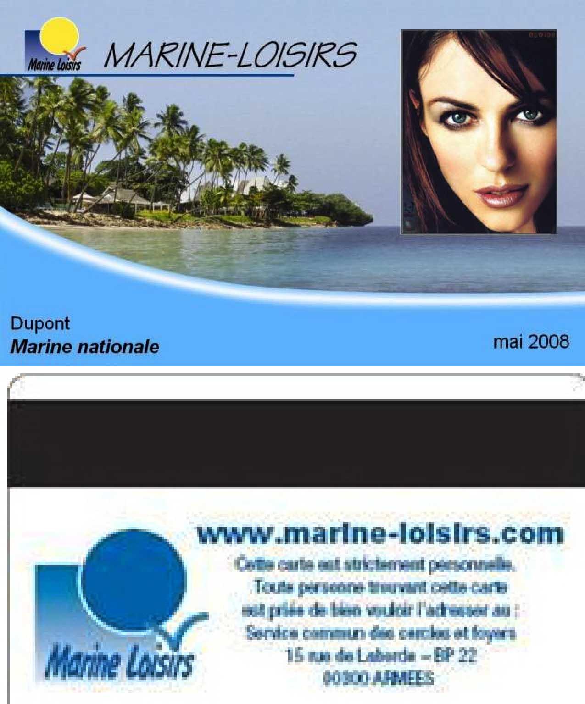 Carte Marine Loisirs