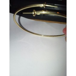 Toi&Moi - Bracelet Or Jaune 18K pour Perle de Tahiti
