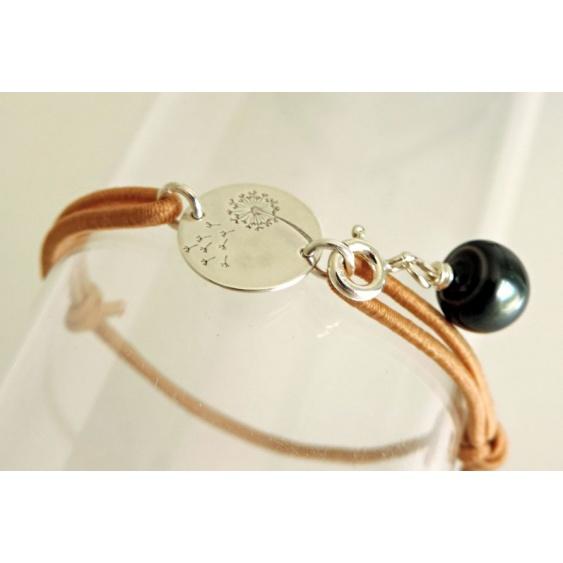 Vole vole ! - Bracelet Véritable Perle de Tahiti
