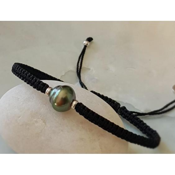 Waimea - Bracelet Véritable Perle de Tahiti