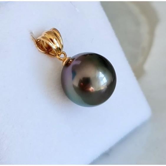 Poenui - Pendentif Or Jaune 18 carats et Perle de Tahiti