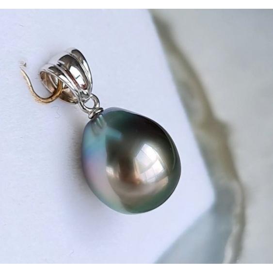 Poenui - Pendentif Or 18 carats et Perle de Tahiti