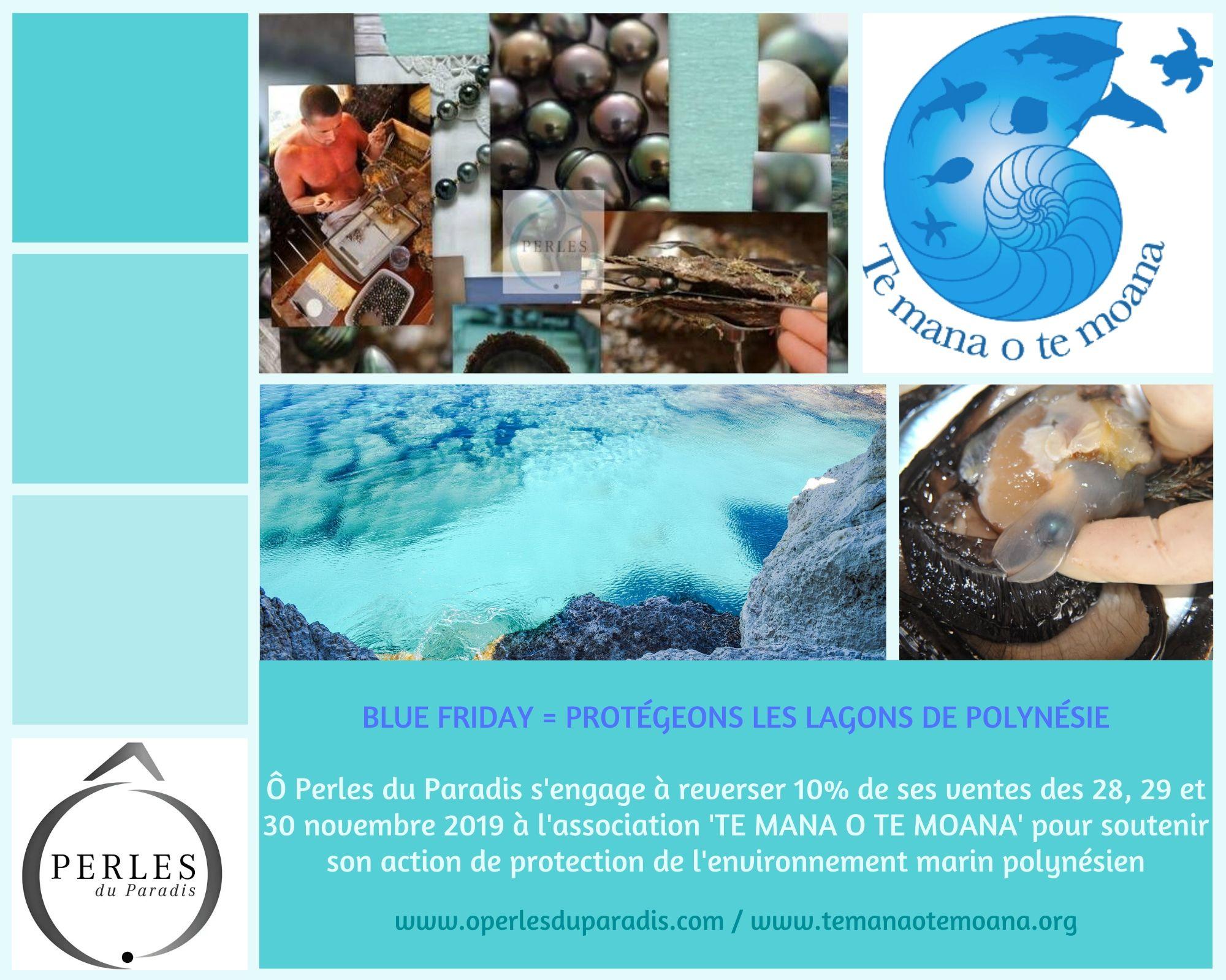 Ô Perles du Paradis soutient Te Mana O Te Moana dans la protection des Océans